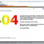 Belgique 404
