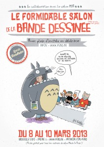 Formidable Salon de la Bande Dessinée
