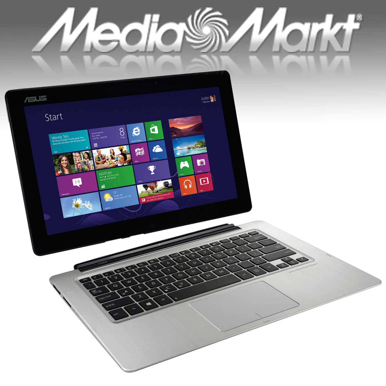 comment je n 39 ai pas achet mon asus transformer book chez media markt. Black Bedroom Furniture Sets. Home Design Ideas